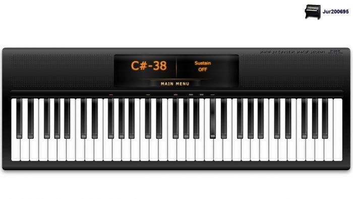 پیانو مجازی