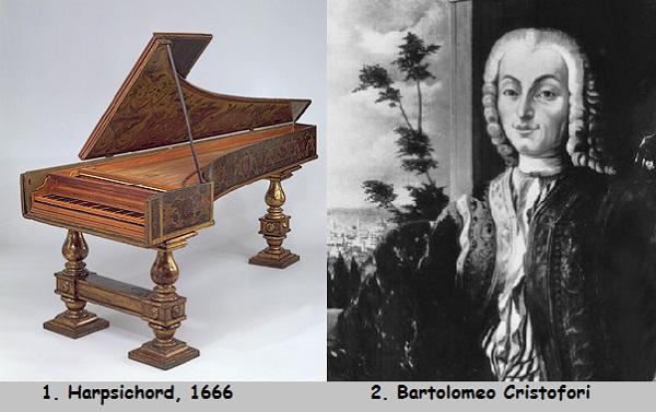 تاریخچه ای از مخترعین پیانو