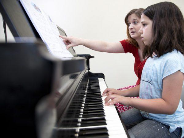 هنر تمرین پیانو
