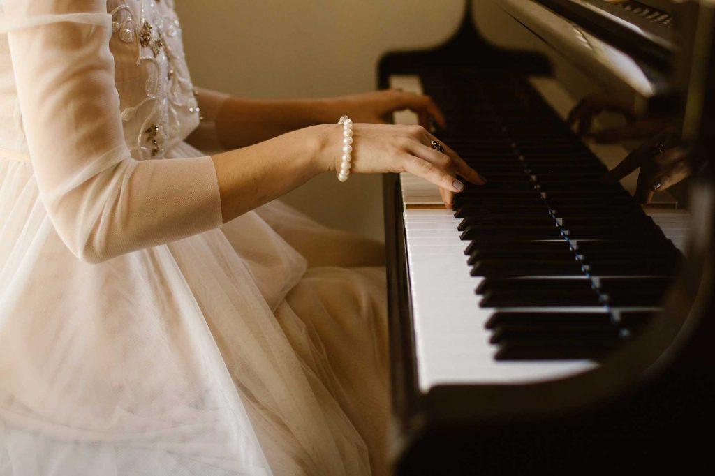 برای حفظ یک قطعه پیانو