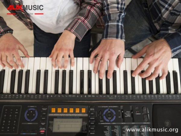 اجزای یک پیانو
